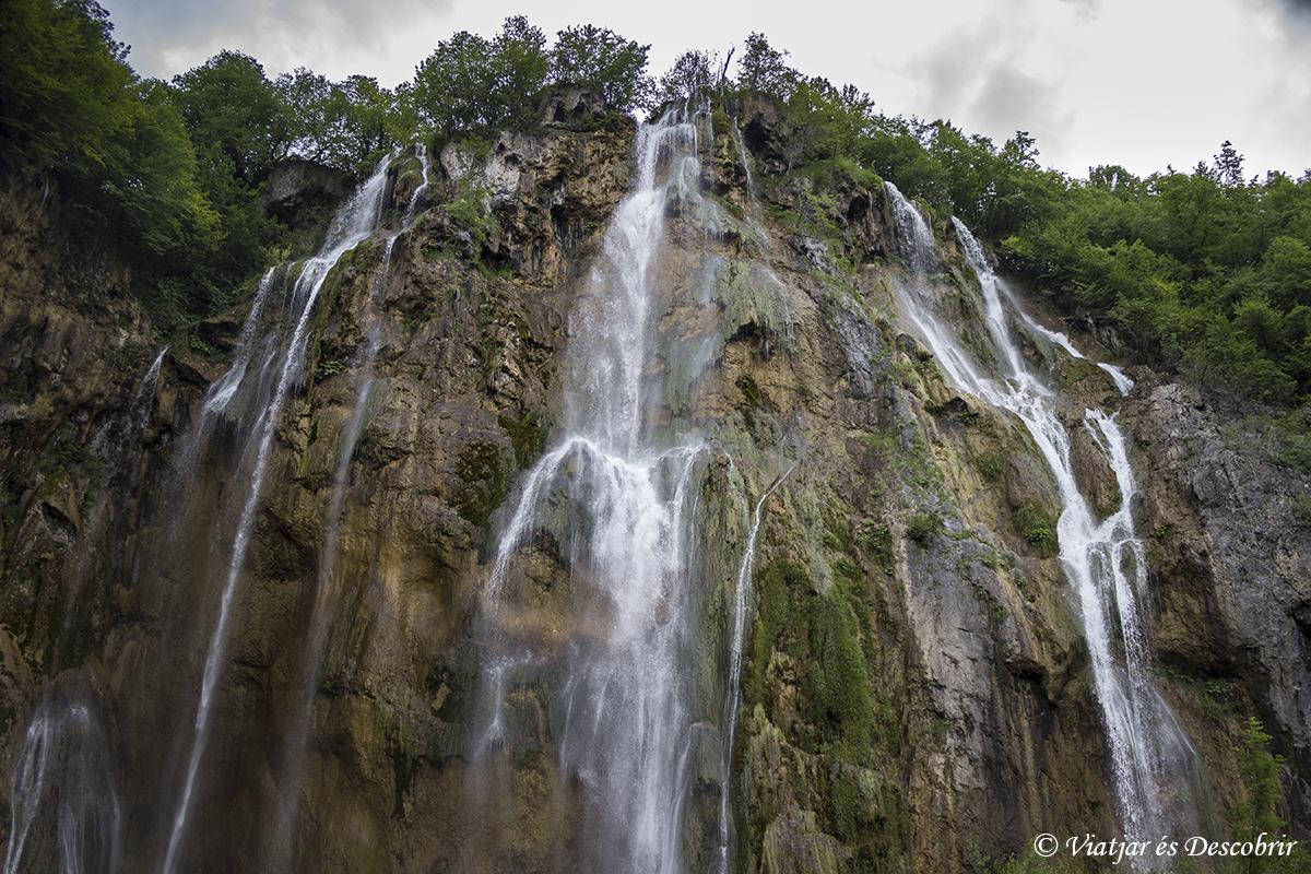 La cascada Veliki Slap
