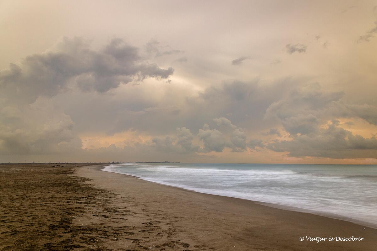 L'Ebre acaba en unes platges molt boniques