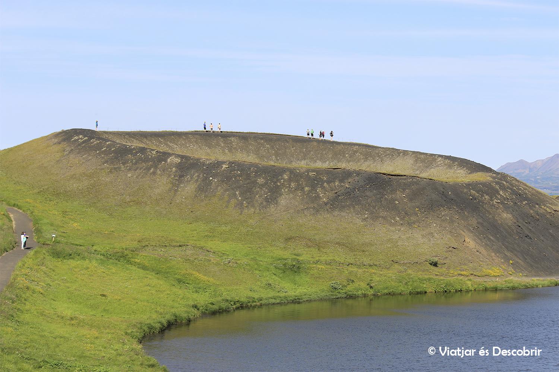 Islàndia, juliol 2013 – Dia 5: El llac Myvatn i el seu preciós entorn