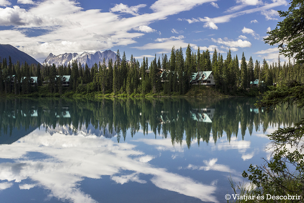 Oest de Canadà, juliol 2015 – Dia 5: L'Emerald Lake i les grans cascades del Yoho NP