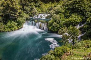 El Parc Nacional Krka i les ciutats de la costa dàlmata
