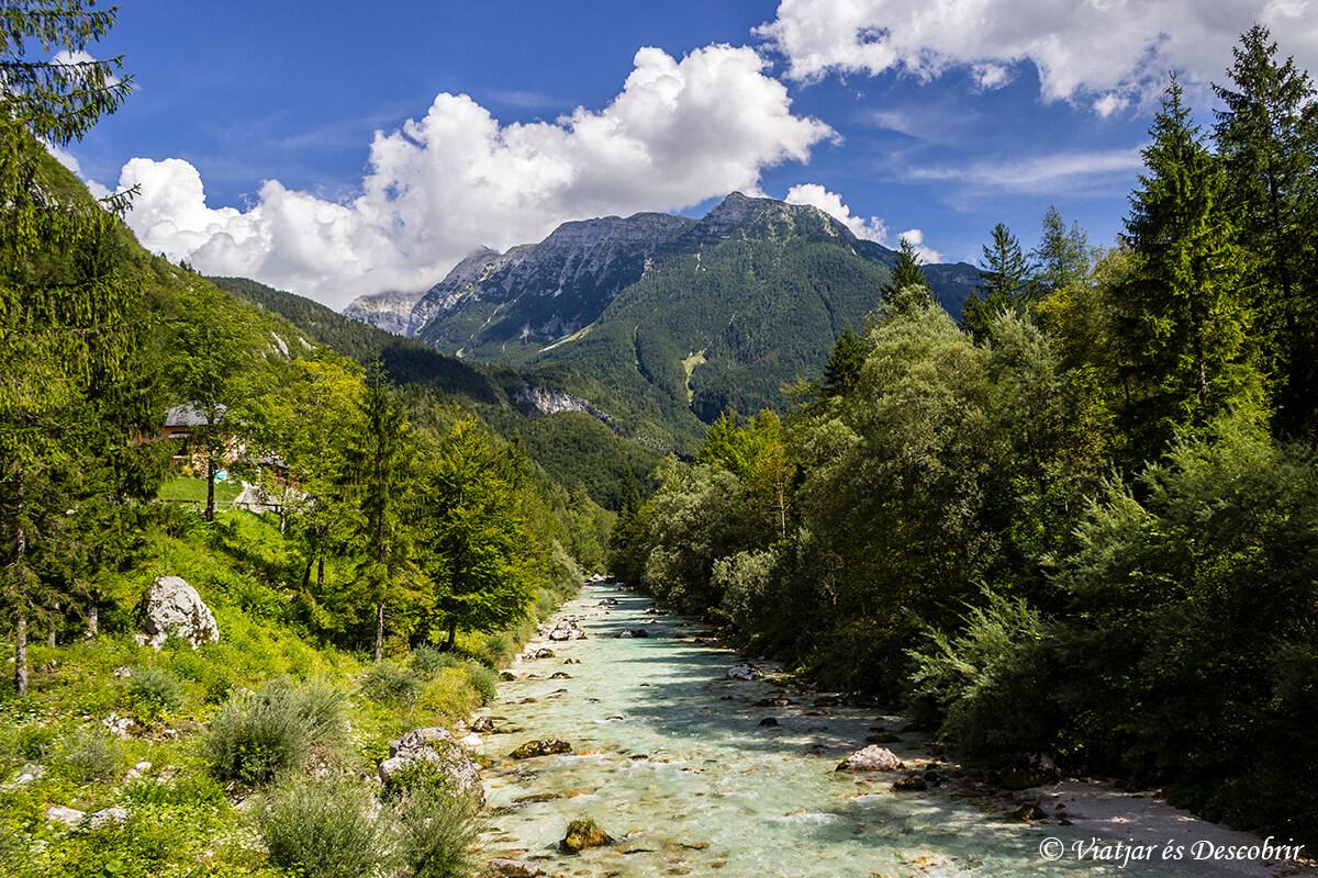 Explorant la naturalesa d'Eslovènia: la Vall del riu Soča