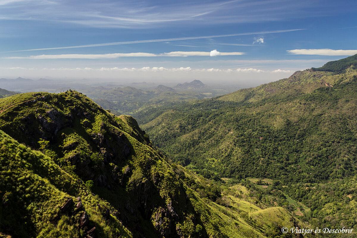 vista des del Little Adam's Peak