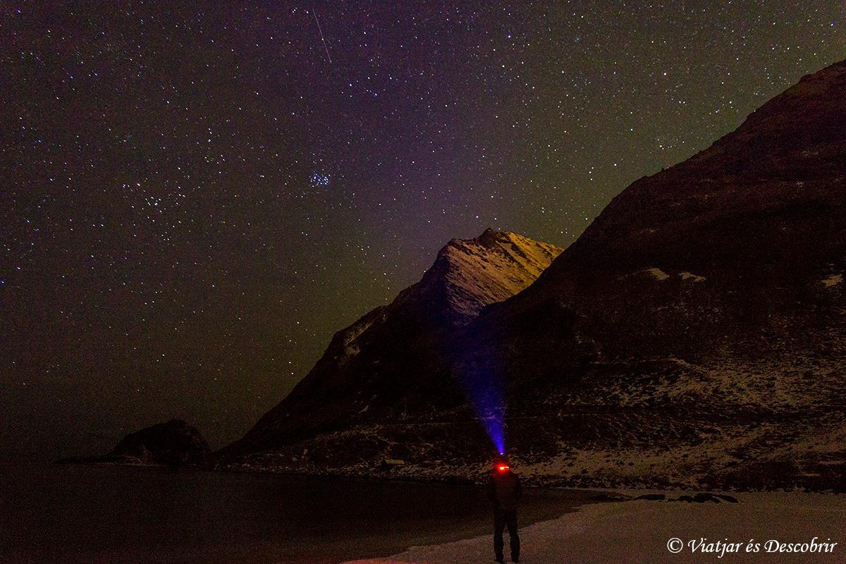 Veure l'aurora boreal a Noruega és qüestió de sort.