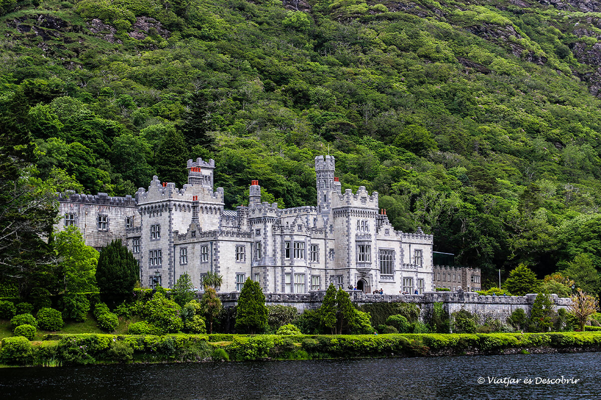la kylemore abbey a connemora