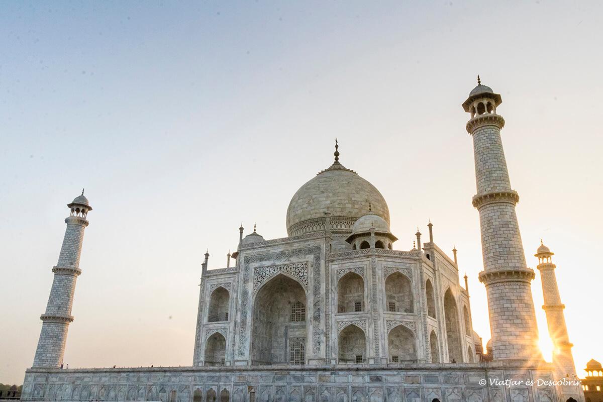 el taj mahal era imprescindible al viatge a l'india