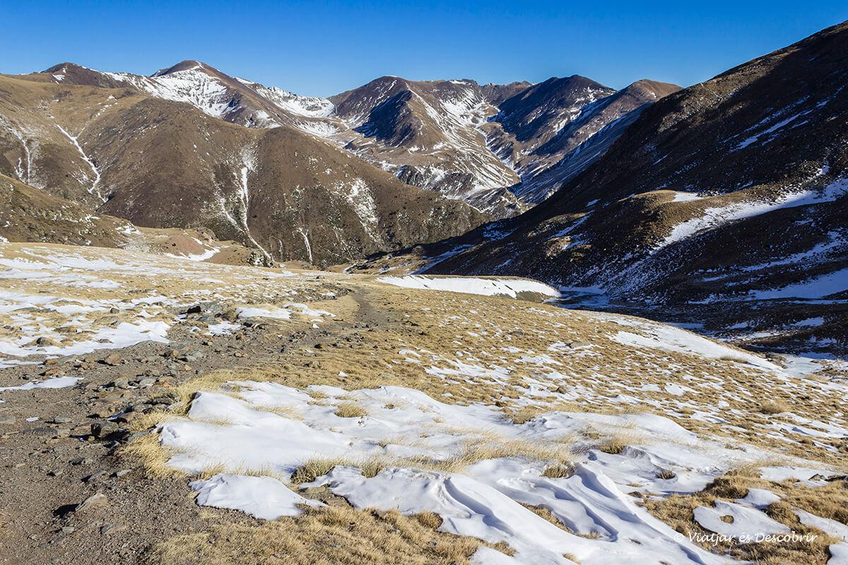excursions de la vall de nuria al puigmal paisatge