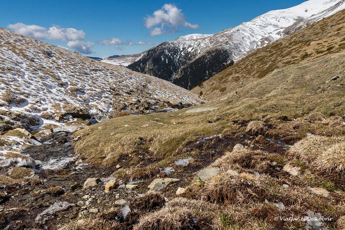 paisatges durant l'ascensio al pic del torraneules
