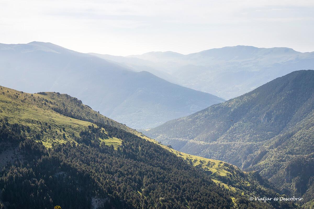 paisatges panoramics de les excursions des de la vall de nuria