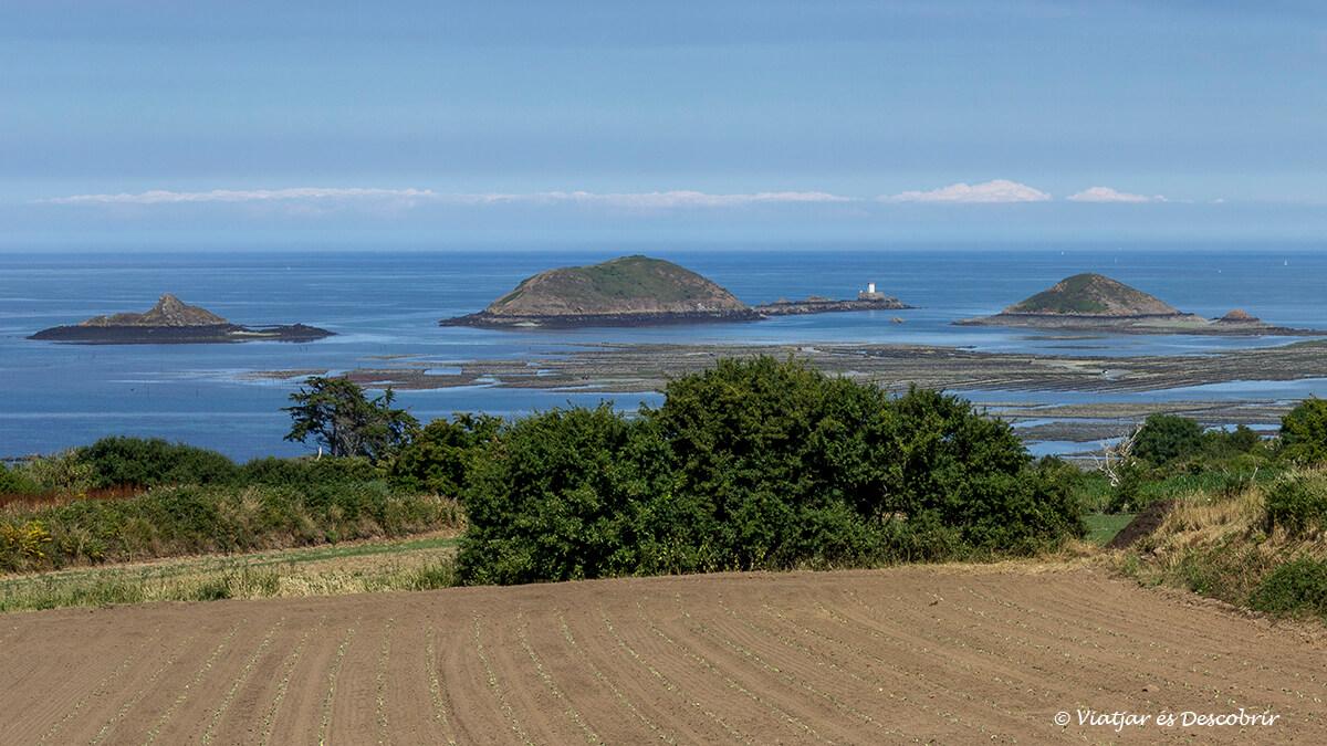 panoramica litoral bretanya francesa