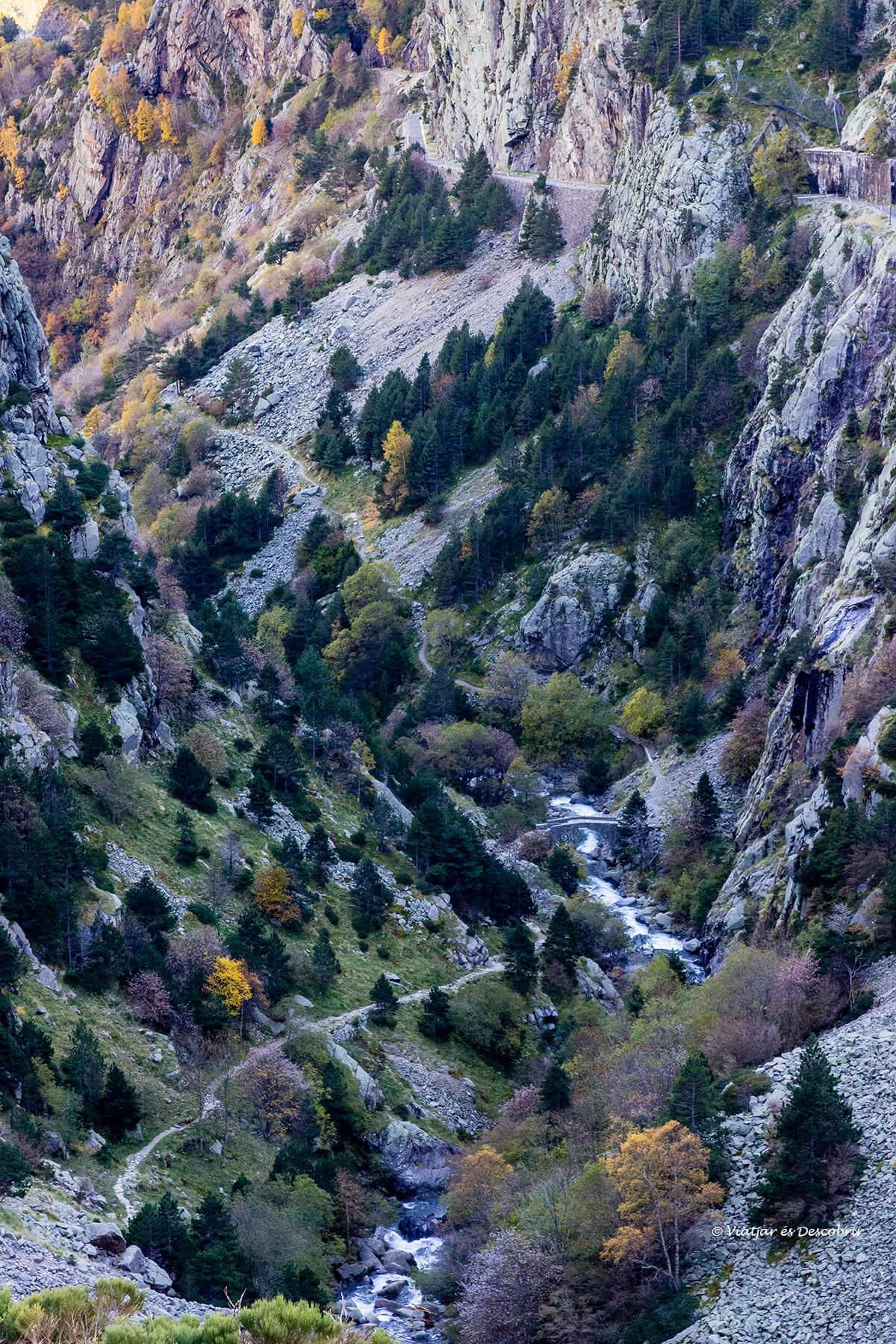 pont cremal excursio des de la vall de nuria