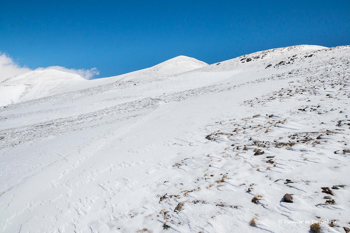 ascensio al torraneules excursio nevada