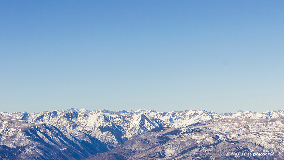 panoramica pirineus