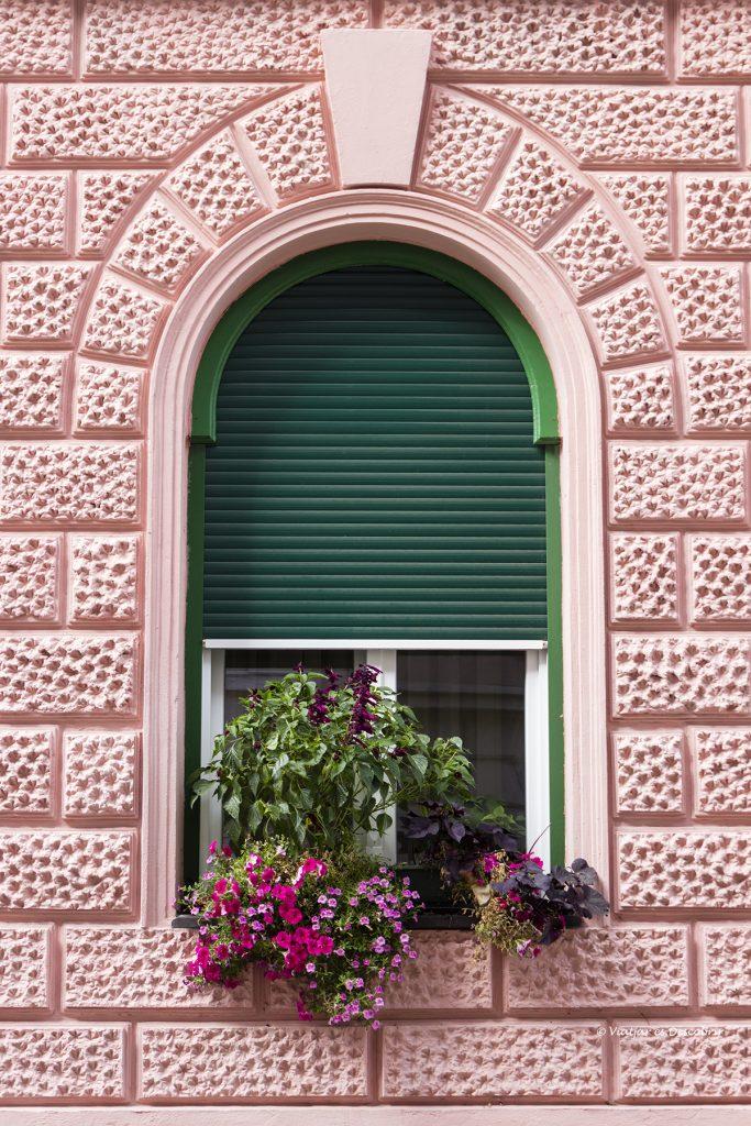 finestra amb encant a la ciutat de ptuj
