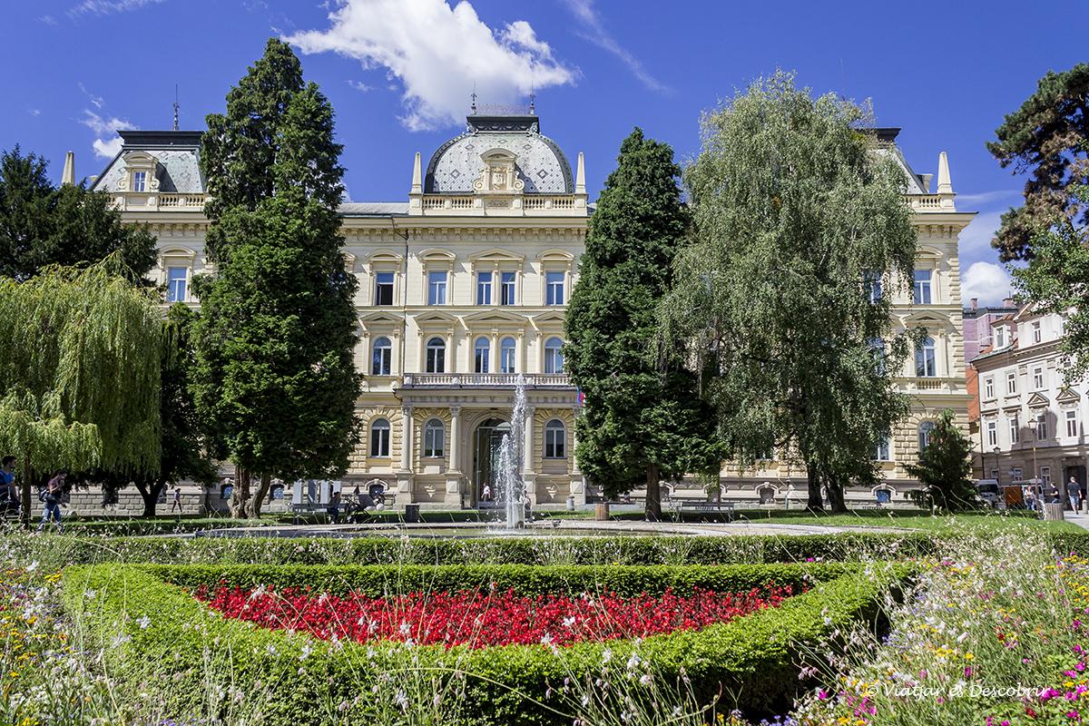zona verda de la ciutat de maribor a eslovenia