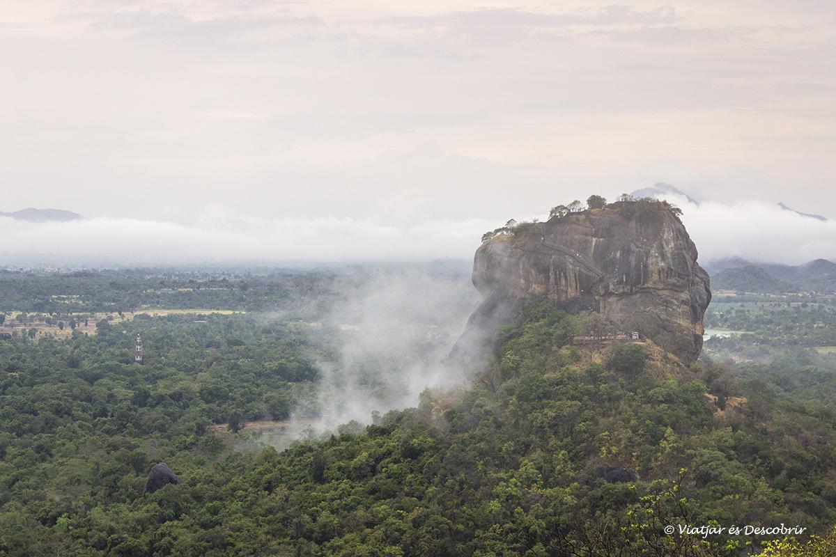 Pidurangala Rock, les millors vistes de Sigiriya