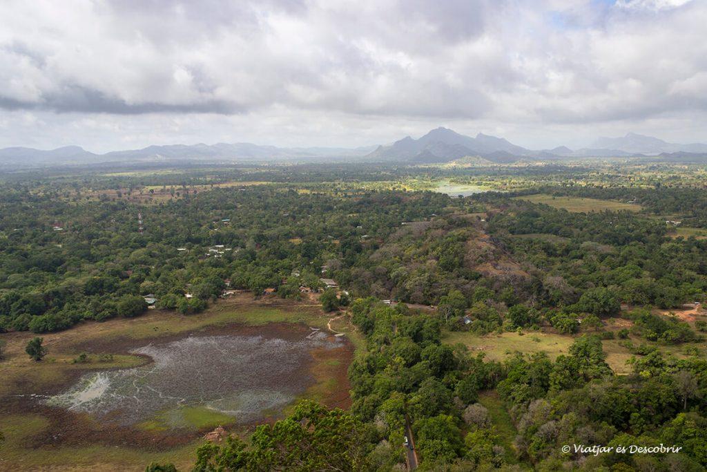 panoramica planicia de sri lanka
