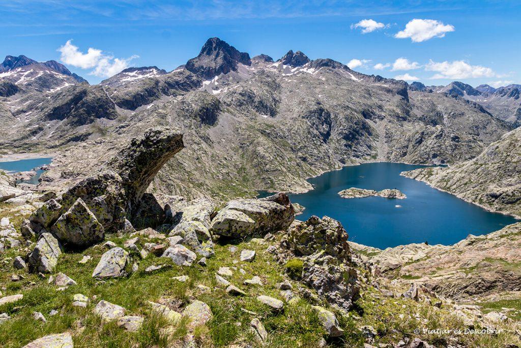 refugi del Pirineu Aragonès als ibones de bachimaña