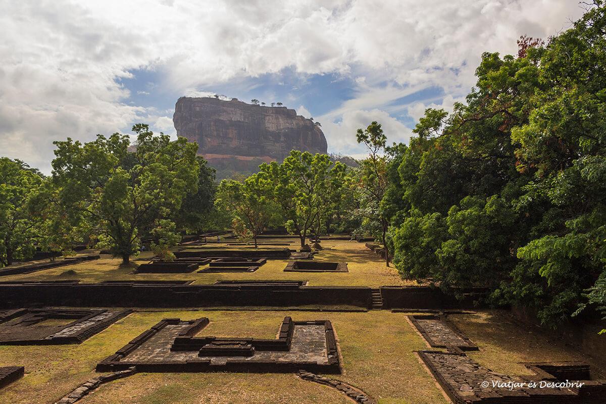 La Roca de Sigiriya, la Roca més famosa a Sri Lanka