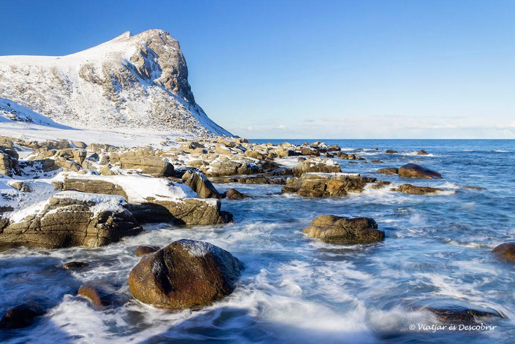 platja Myrland illes lofoten