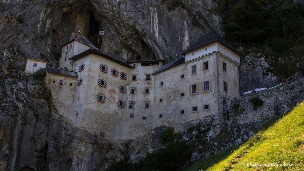 el castell de Predjam fotografiat des de l'exterior